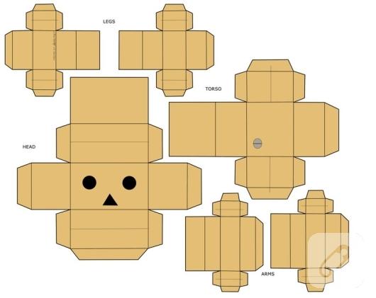 danbo-karton-robot-kalibi