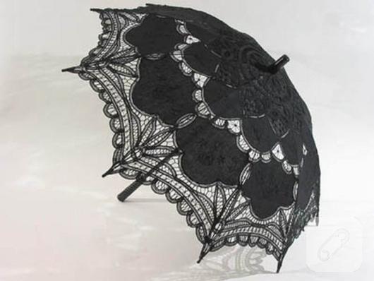dantelli-siyah-semsiye