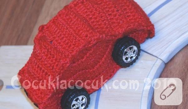 Amigurumi oyuncak mavi araba modeli yapılışı anlatımlı - Didem ... | 350x600