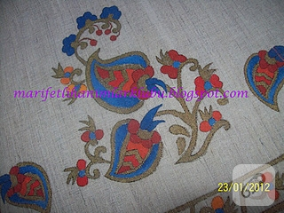türk işi boyama
