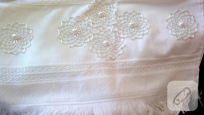 boncuklu havlu kenarı