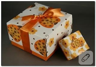hediye kutusu yapımı