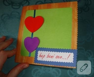 sevgilier günü kartı