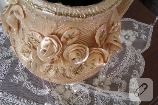Seramik vazo süsleme çalışmaları