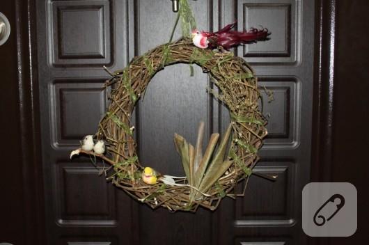 el yapımı kapı süsü örnekleri