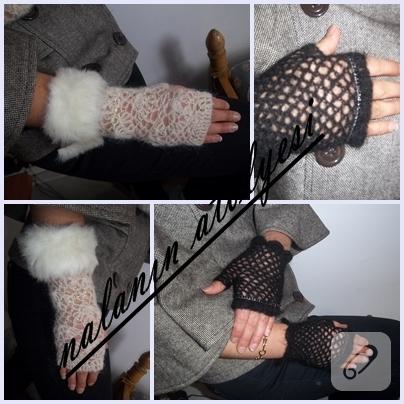 delikli eldiven