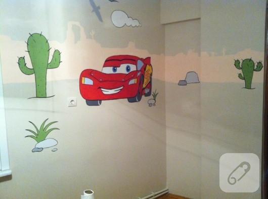 çocuk odası duvar örnekleri