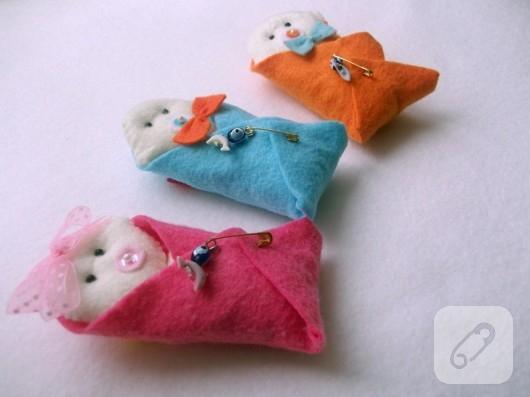 keçe bebek şekeri modelleri