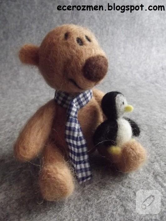 keçe iğneleme ile oyuncak yapımı
