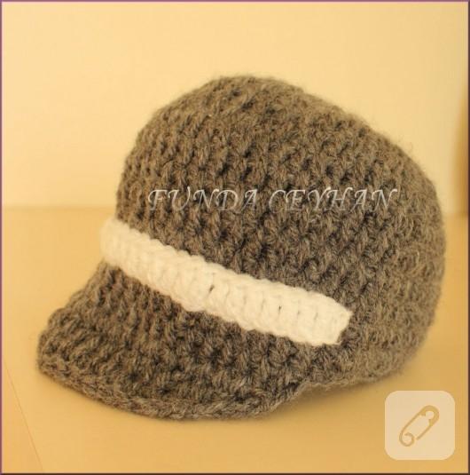 tığ işi şapka