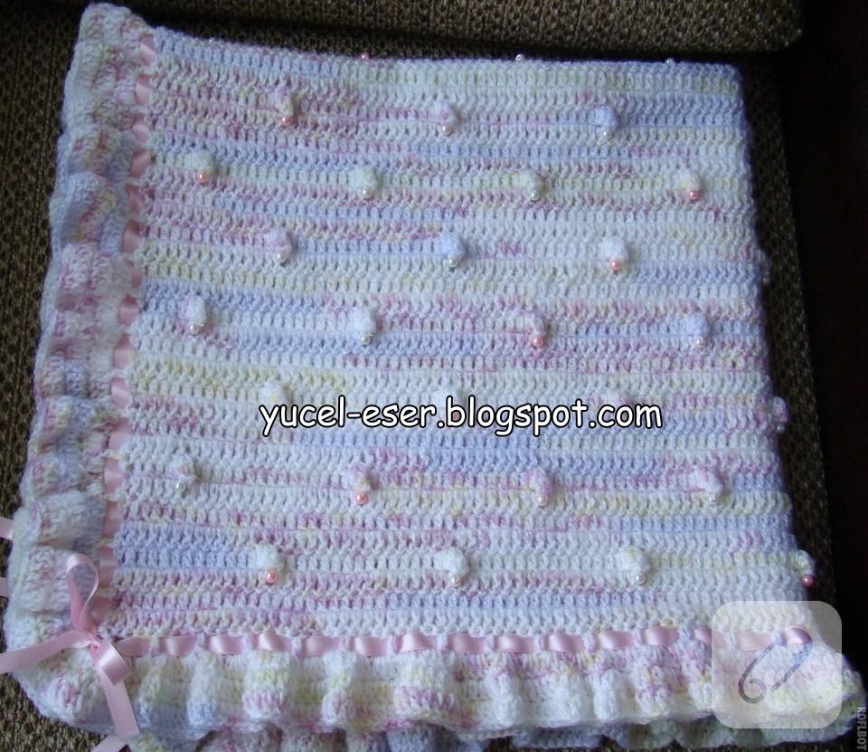Çift Taraflı Bebek Battaniyesi Yapılışı