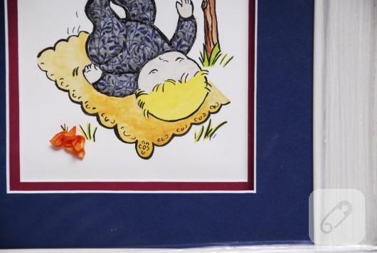 Kabartma Çocuk Odası Tabloları