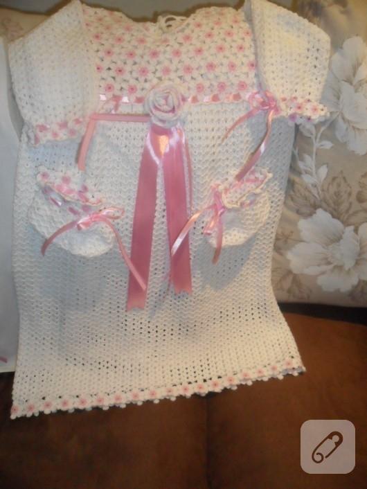 örgü bebek kıyafetleri