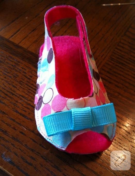 kumaş sandalet
