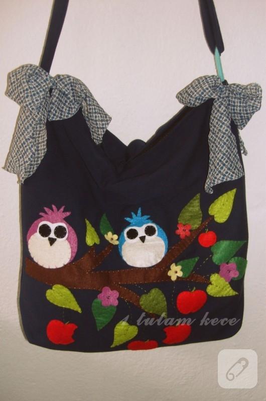 Baykuşlu Çantalar