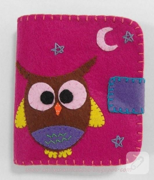baykuşlu cüzdan