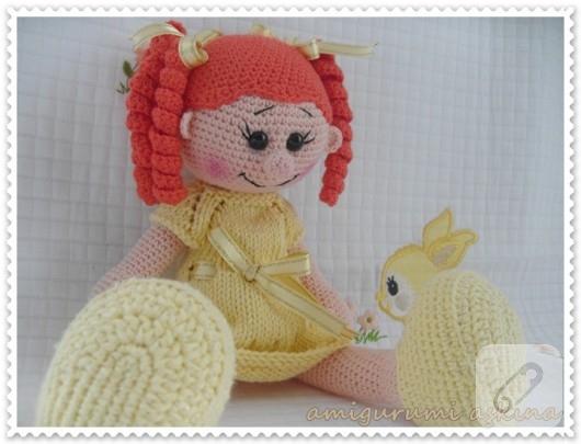 Crochet, Pattern, Patron, Tutorial, Amigurumi, LoLA Doll | Crochet ... | 405x530