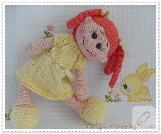 Amigurumi Mouse Lola Free Pattern » My Eat Book | 442x530