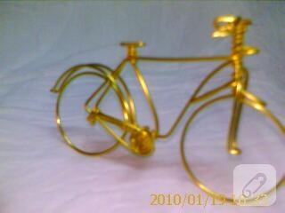 Tek Parça Telden Bisiklet 10marifetorg