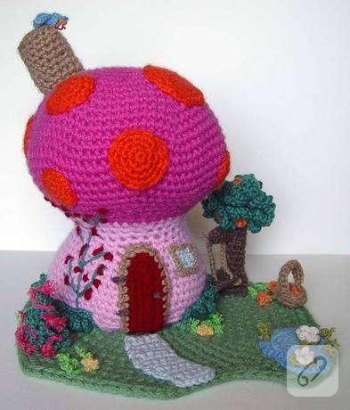 Amigurumi Şirinler Yapımı – Modahole – Moda ve Yaşam Portalı   460x393