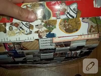 Dergiden cüzdan yapımı