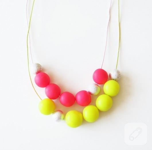 neon takı modelleri