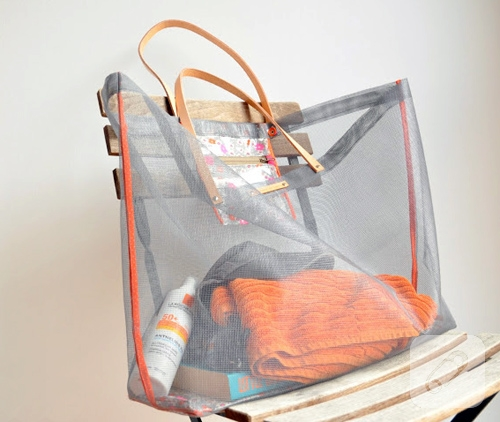 Plaj çantası yapımı