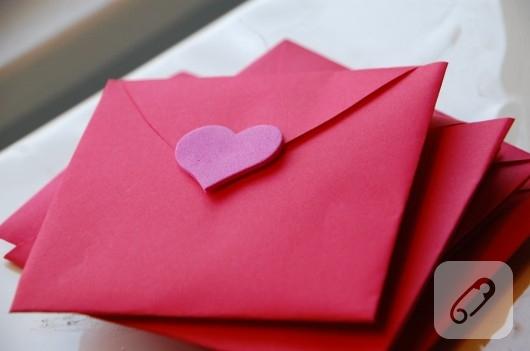 Kalpten zarf yapımı