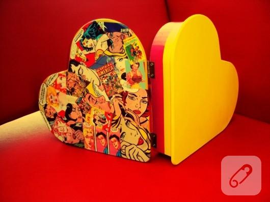 kalpli ahşap kutu