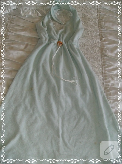 Plaja havlu elbise
