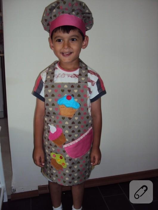 Çocuk mutfak önlükleri