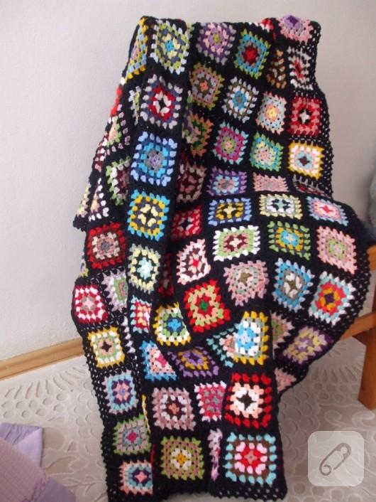 Motifli battaniye