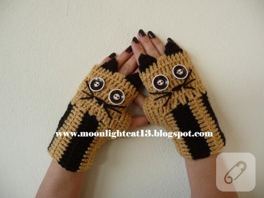 parmaksız eldiven modelleri
