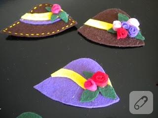 Keçe şapkalar