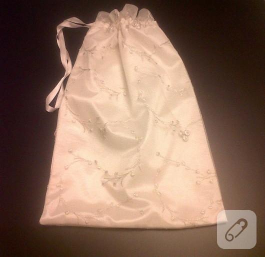 Kumaş ayakkabı torbası