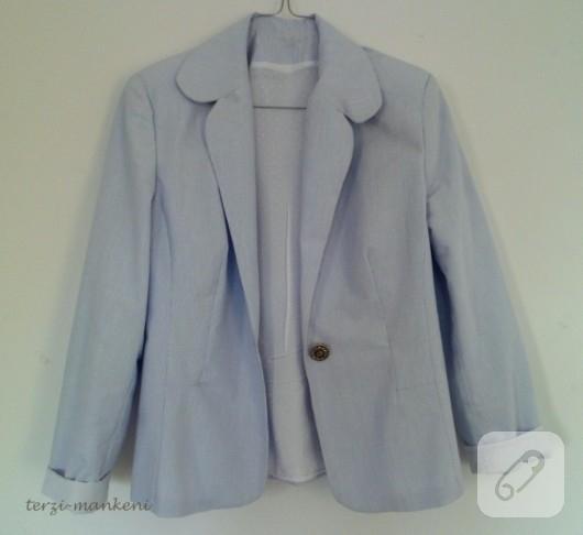 Çizgili ceket