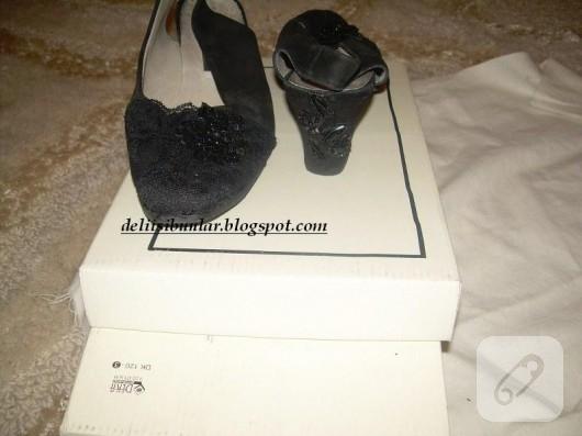 Ayakkabı süslemece