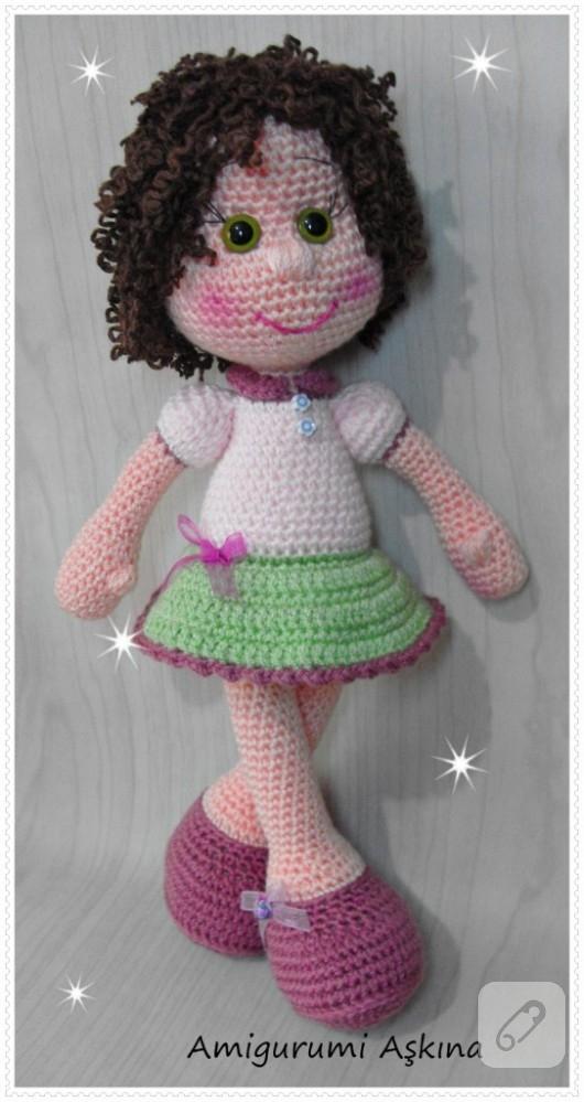 Amigurumi Balerin Bebek Yapılışı- Amigurumi Ballerina Doll Free ... | 999x530