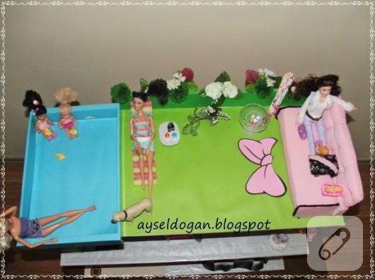 barbie evi yapımı