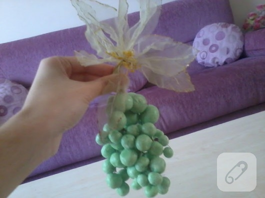 Sabundan üzüm yapımı