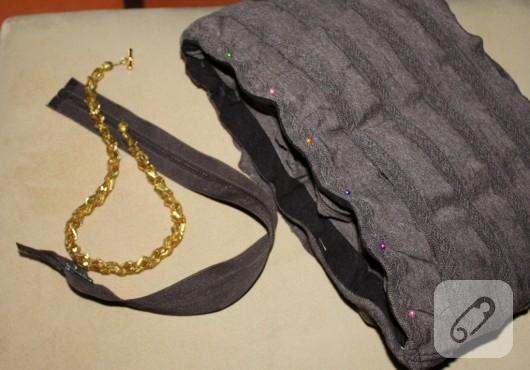 Fırfırlı çanta