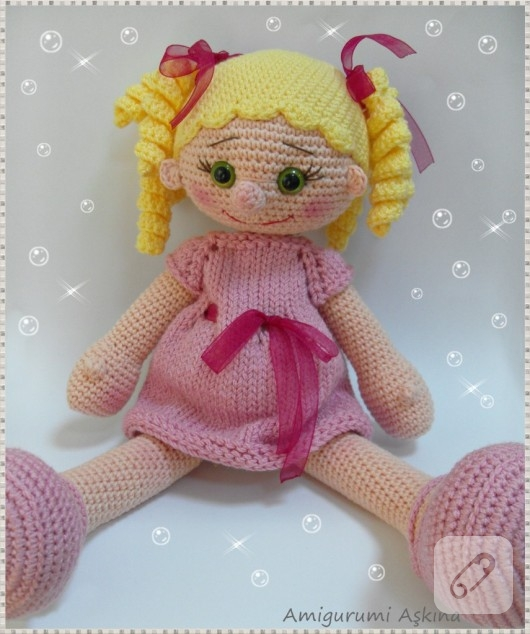 İnci Bebek- Part 1 (Amigurumi Bebek Yapımı - Amigurumi Doll) - YouTube | 634x530