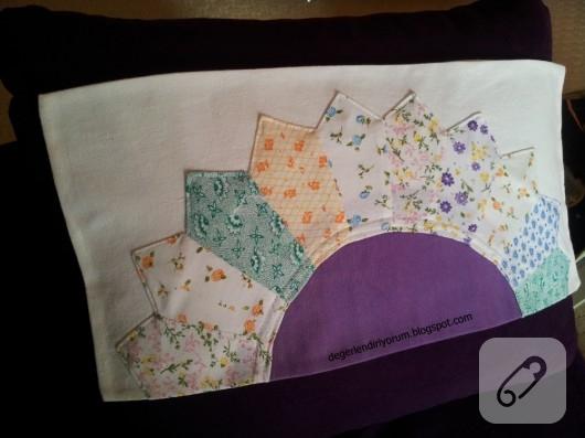 patchwork yastık kılıfı,