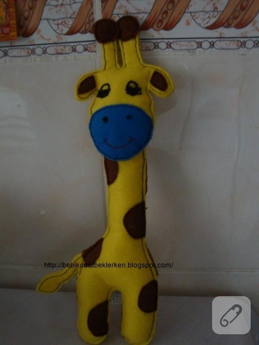 Keçe zürafa