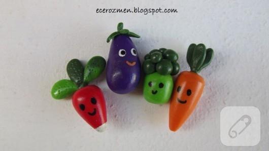 Minyatür sebzeler