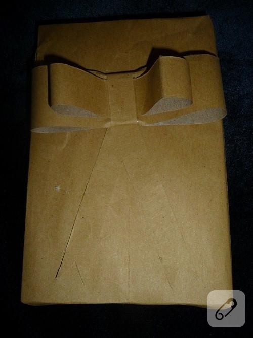 hediye paketi yapımı