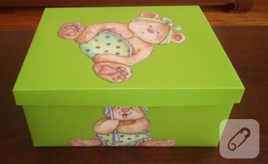 kutuya dekupaj