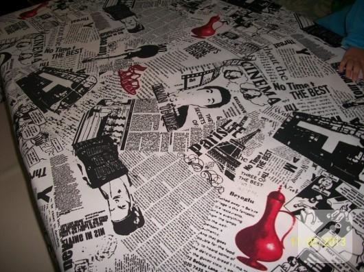Pop art masa örtüsü