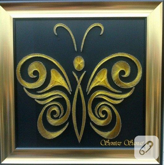 civi-sanati-filografi-kelebek-desenli-pano