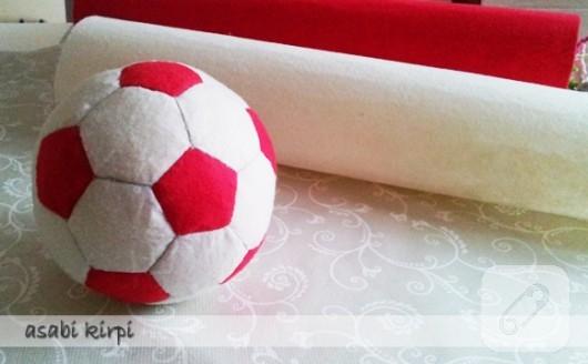 Oyuncak top yapımı